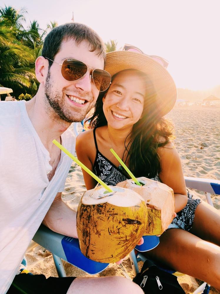 Couple coconut