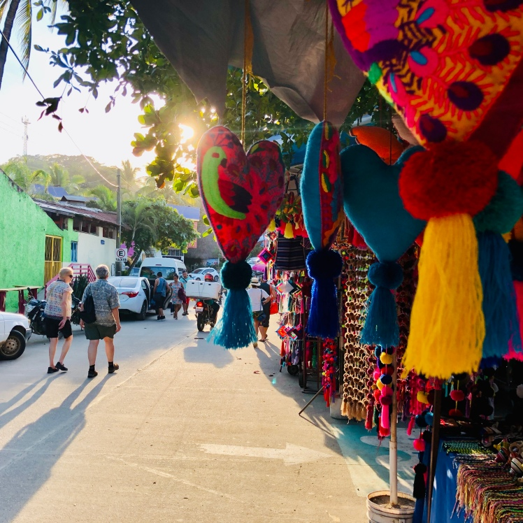 Crafts colorful Sayulita