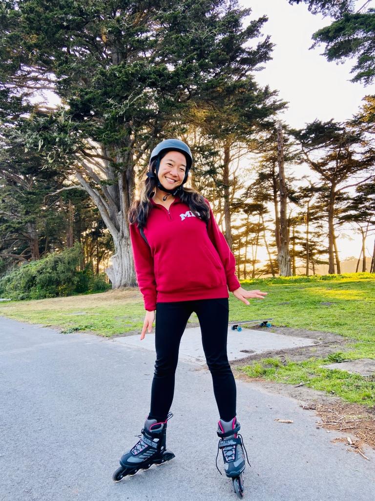 Rollerblades in Golden Gate Park
