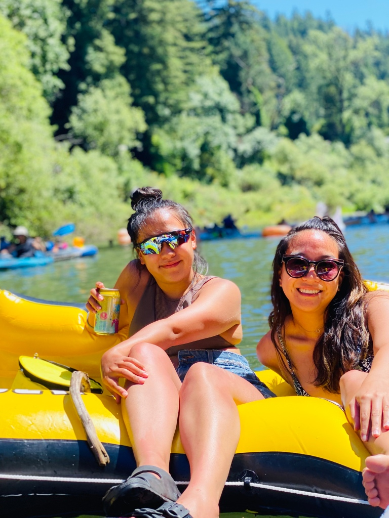 Floating on Russian River