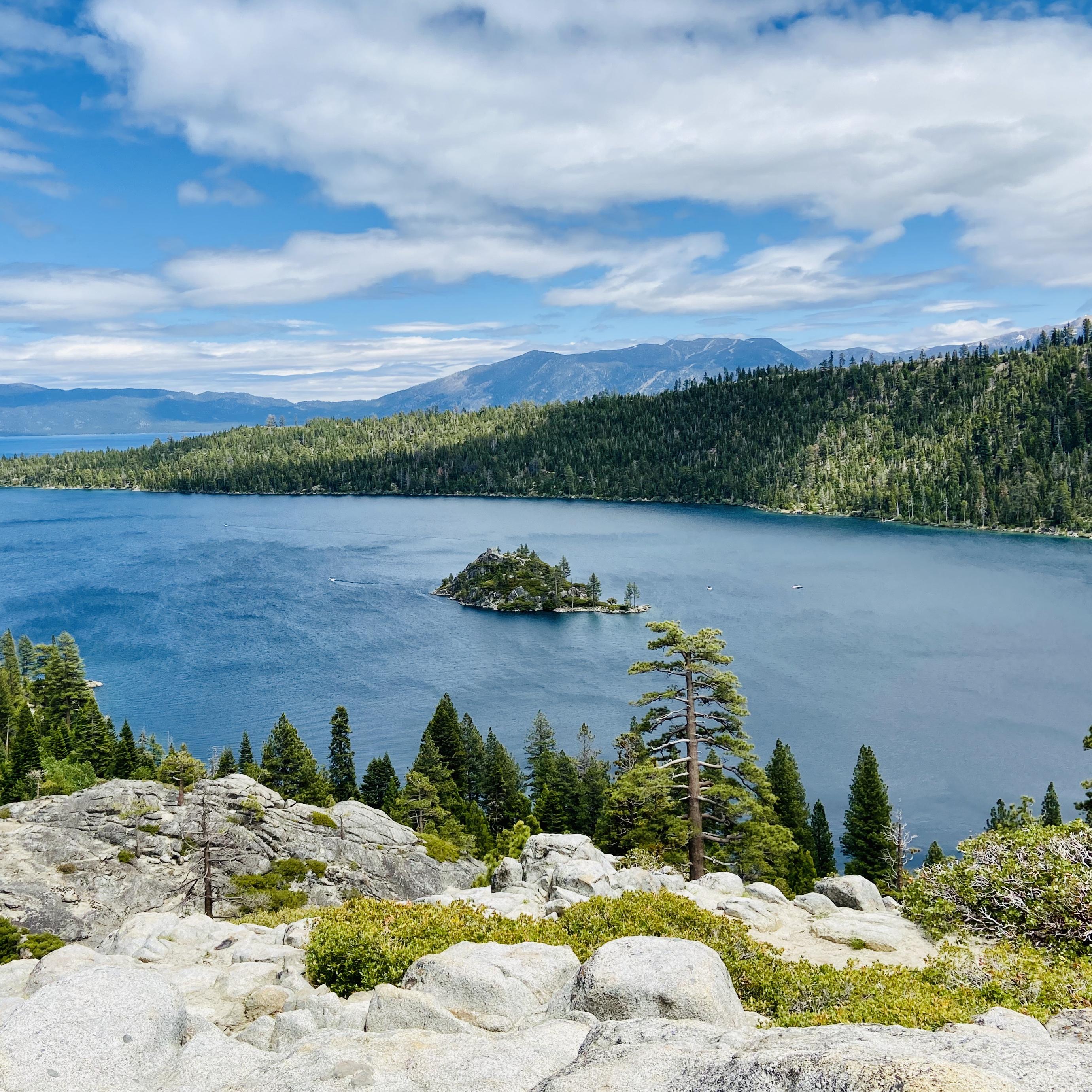 Top of Emerald Bay, Tahoe