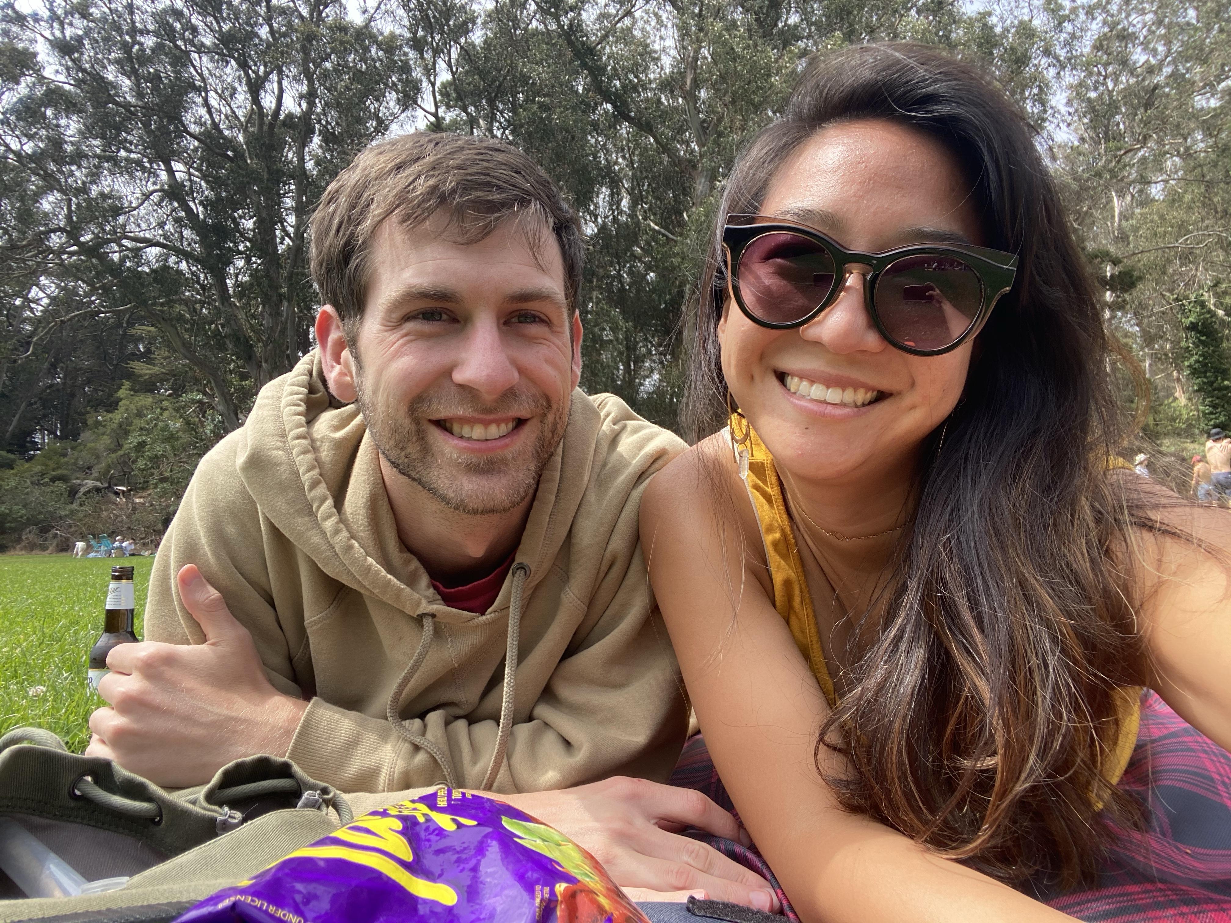 picnic at golden gate park