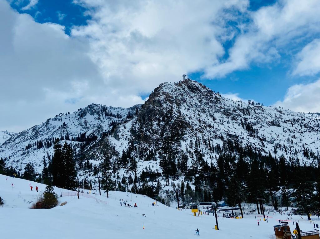 Squaw Valley mountain
