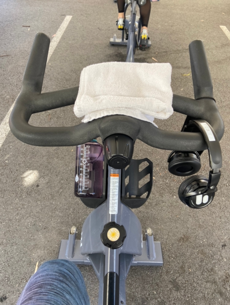 Soul cycle spin bike