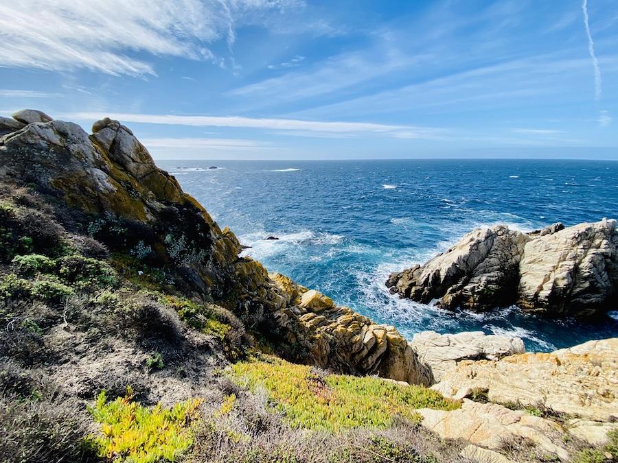 coastal view at Point Lobos