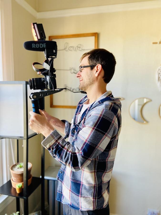 Fancy filming equipment