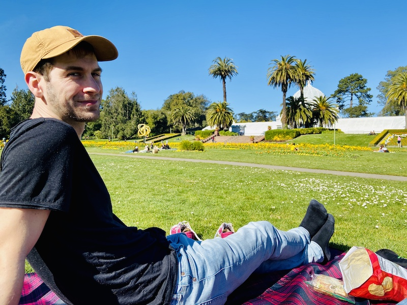 Picnic with Joe at Golden Gate Park