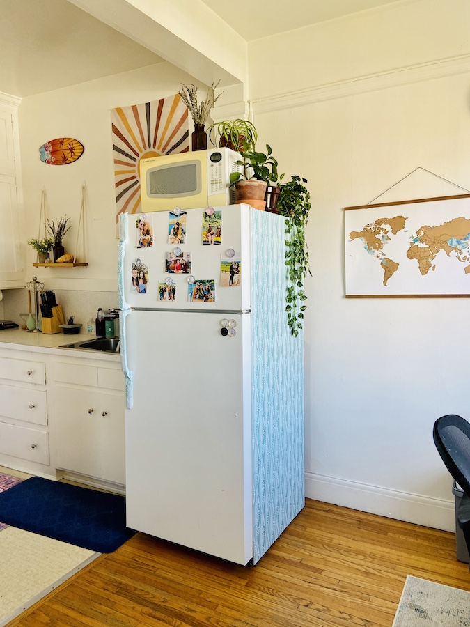 Hippie surfer kitchen makeover