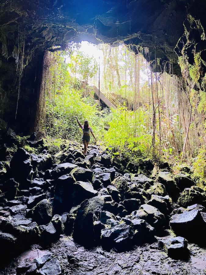 Kaumana Caves Big Island