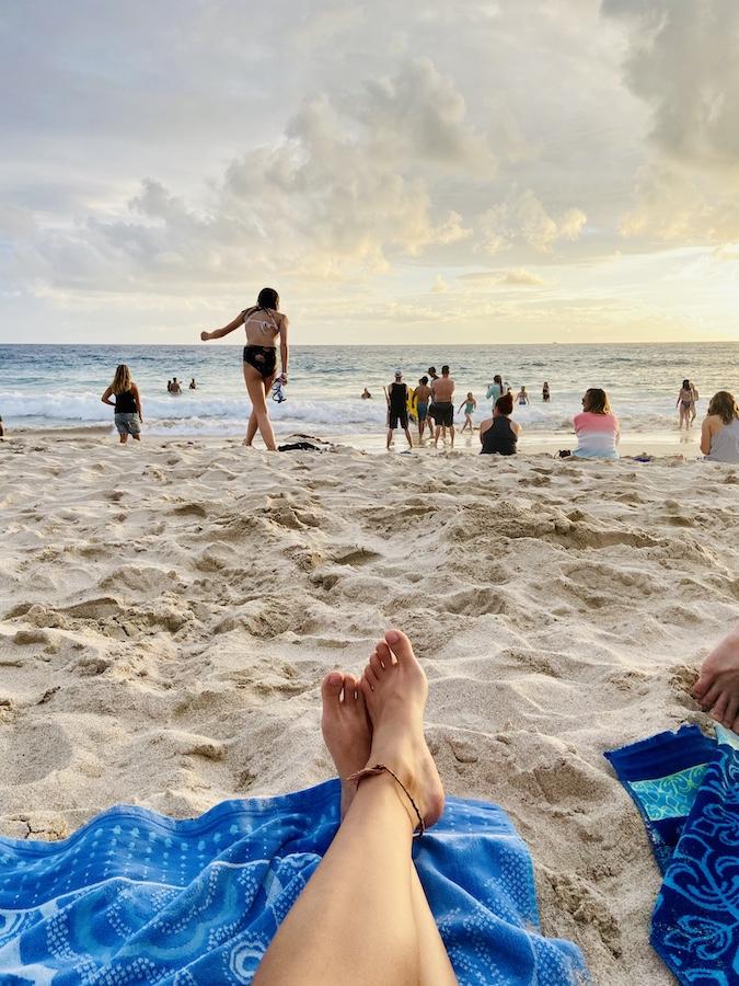 Sunset on Magic Sand Beach