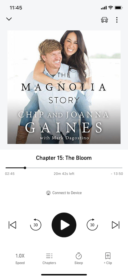 Audible The Magnolia Story