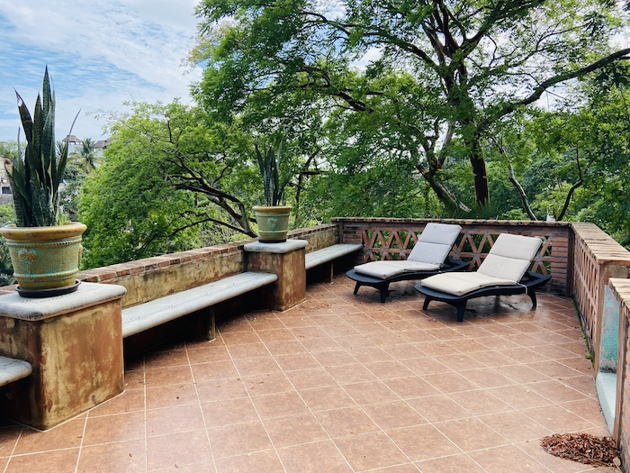 Rooftop in villa in Sayulita
