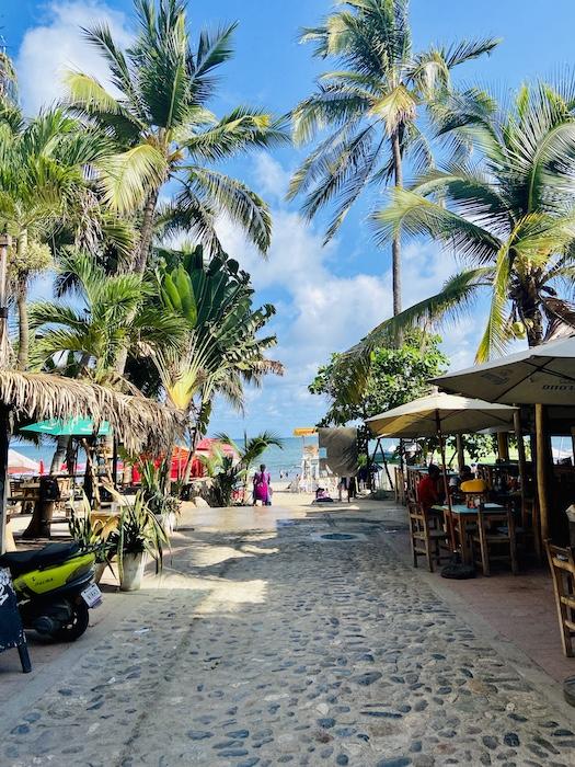 Road to Sayulita beach