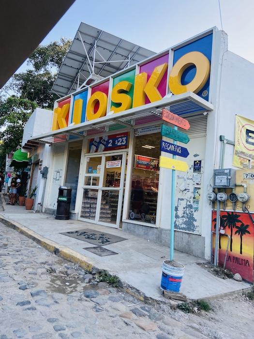 Kiosk in Sayulita