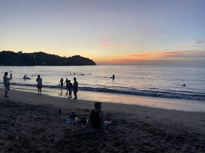 Sunset at Sayulita Beach