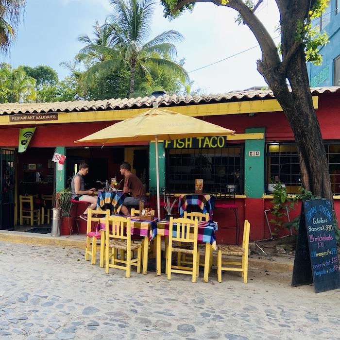 Local restaurant in Sayulita