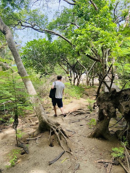 hike to playa carricitos