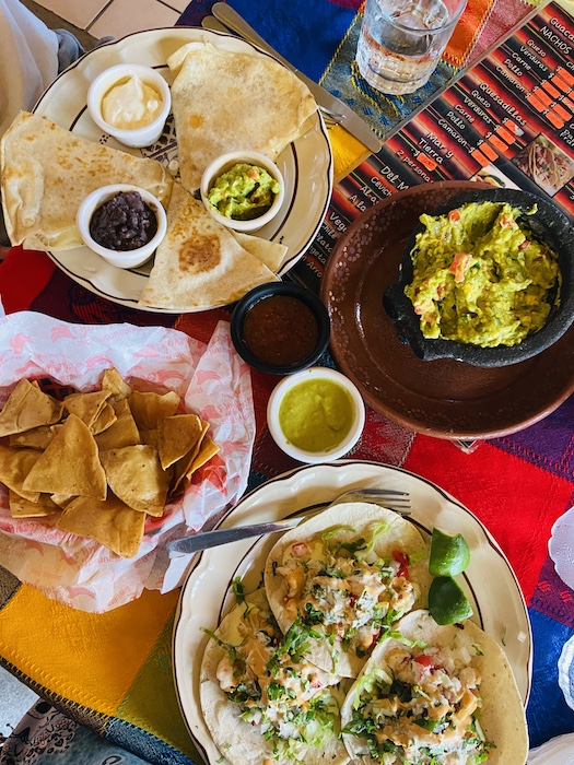 Local Mexican food